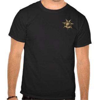 Crachá da polícia das karmas! tshirts