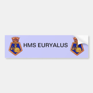 Crachá de HMS Euralyus, embarcação naval britânica Adesivos