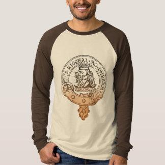 Crachá do bege da camisa de Gregor do clã