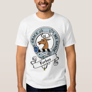 Crachá do clã de Forbes Camisetas