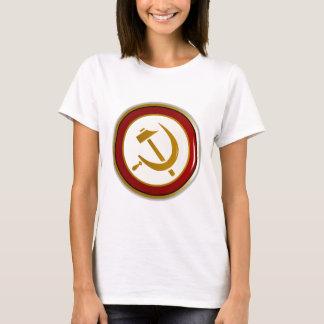 Crachá do Pin do russo Camiseta
