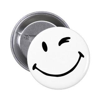 Crachá - sorriso bóton redondo 5.08cm