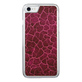 Crackle cor-de-rosa capa iPhone 8/ 7 carved
