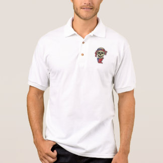 Crânio americano camisa polo