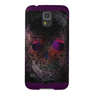 Crânio assustador, Grunge, gótico, o Dia das Capas Par Galaxy S5