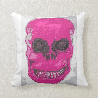 Crânio cor-de-rosa, coxim almofada
