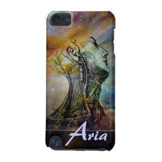 Crânio da anatomia do vintage e nebulosa de Orion  Capa Para iPod Touch 5G