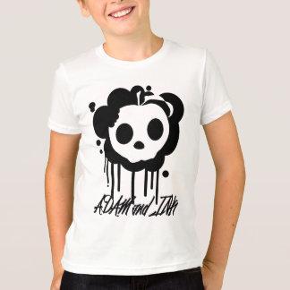 Crânio da maçã de ADAM e de TINTA Camiseta