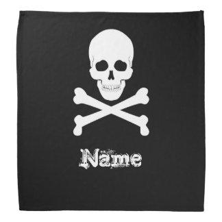 Crânio de bandeira de pirata e Crossbones Roger Bandana