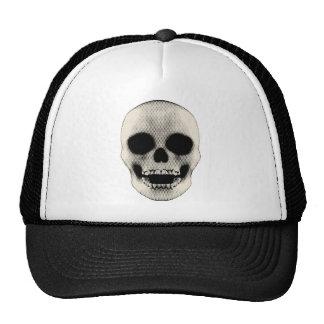 Crânio de Haltone: Trabalhos de arte do vetor: Boné