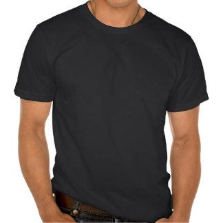 Crânio de roda branco do açúcar camiseta