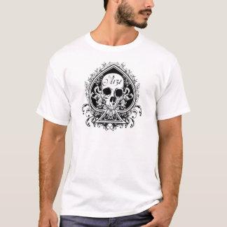 Crânio do ás camiseta