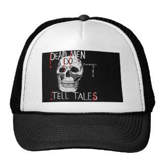 crânio do chapéu da ciência forense do csi boné