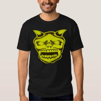 Crânio do diabo -- T-shirt