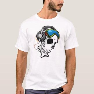 Crânio do DJ Camiseta
