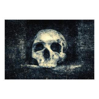 Crânio do horror do Dia das Bruxas Foto