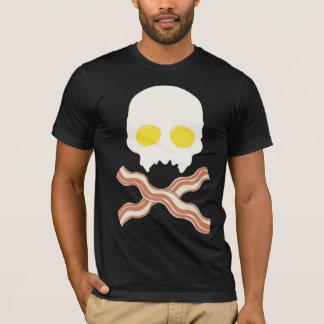 Crânio do pequeno almoço camiseta