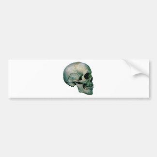 Crânio do perfil adesivo para carro