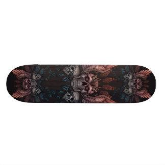 Crânio do robô + Asas Skate Boards