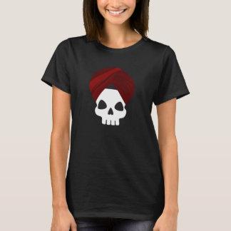 Crânio do sikh camiseta