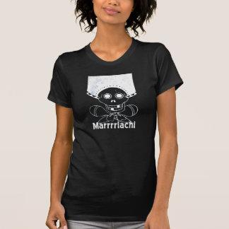 Crânio e Crossbones de Marrrriachi Tshirts