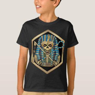 Crânio egípcio do faraó camiseta