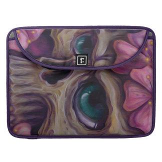 crânio feminino bolsas MacBook pro