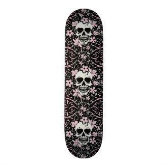 Crânio feminino do vintage shape de skate 21,6cm