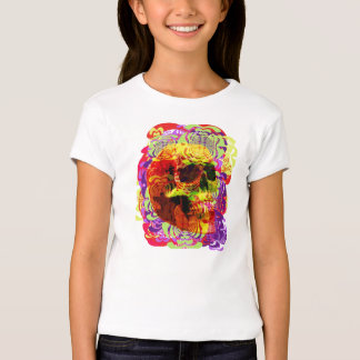 Crânio Funky T-shirt