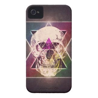 Crânio geométrico capa para iPhone