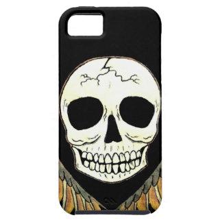 Crânio gótico & asas capas para iPhone 5