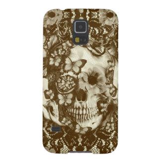 Crânio gótico do laço do Victorian Capinha Galaxy S5
