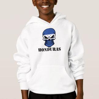 Crânio Honduras da bandeira do Honduran