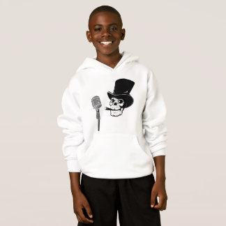 Crânio hoodies para meninos