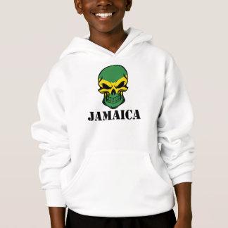 Crânio jamaicano Jamaica da bandeira