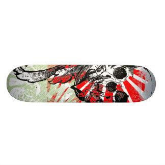 Crânio legal e gráficos que você pode personalizar shape de skate 19,7cm