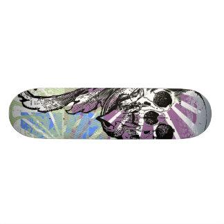 Crânio legal e gráficos que você pode personalizar skateboard