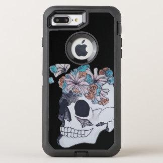 Crânio Otterbox Capa Para iPhone 7 Plus OtterBox Defender