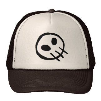 Crânio-Parte superior do logotipo da extinção Boné