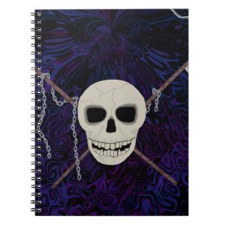 Crânio & Scythes Caderno