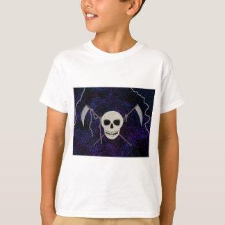 Crânio & Scythes Camiseta