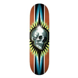Crânio Starburst do vintage Shape De Skate 20cm