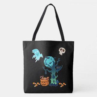 Crânios assustadores assustadores & doces dos bolsas tote