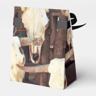 Crânios assustadores caixinha de lembrancinhas
