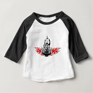 Crânios Camiseta Para Bebê