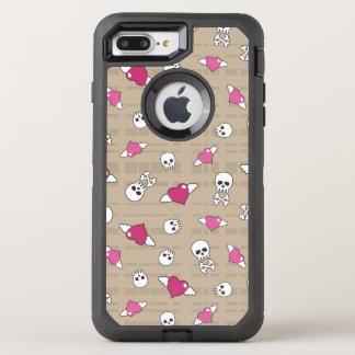 Crânios Capa Para iPhone 7 Plus OtterBox Defender