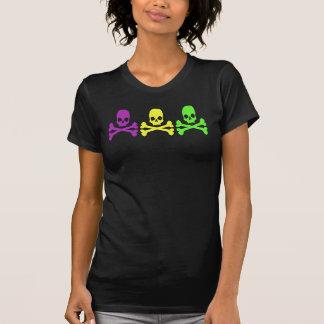 Crânios do carnaval camiseta