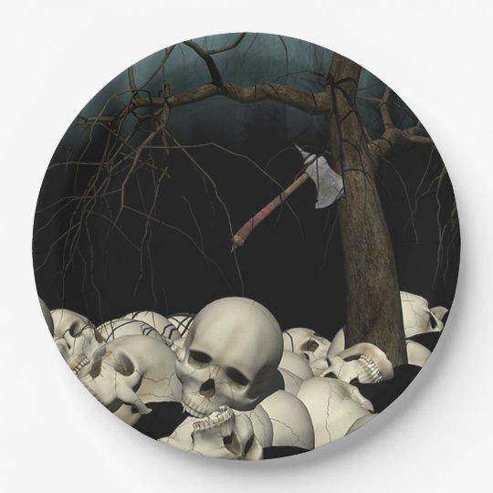 Crânios e machado