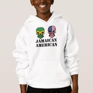 Crânios jamaicanos da bandeira americana