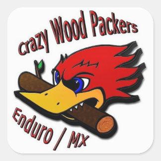 Crazywoodpackers autocolante